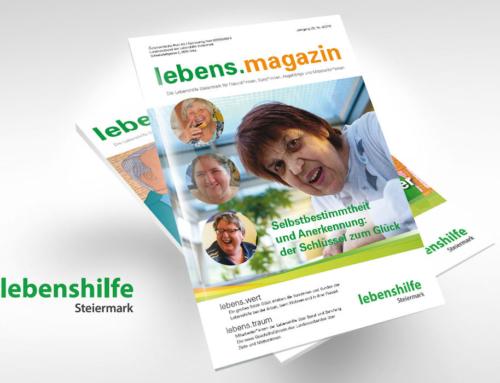 Lebenshilfe Steiermark Magazin druckfrisch!