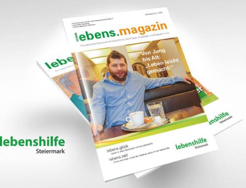 """Lebenshilfe Steiermark Magazin: """"Leben leicht gemacht!"""""""
