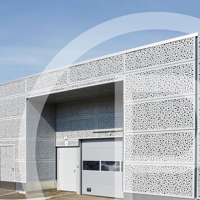 Eurospar Zeltweg Fassade Prometall