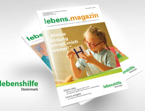 """Lebenshilfe Steiermark Magazin: """"Meine Bildung bringt mich weiter!"""""""